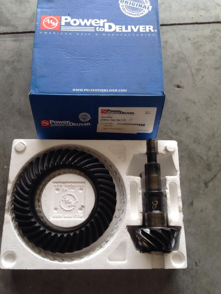 Used Aam Ring And Pinion 3 45 Gear Ratio Camaro5 Chevy