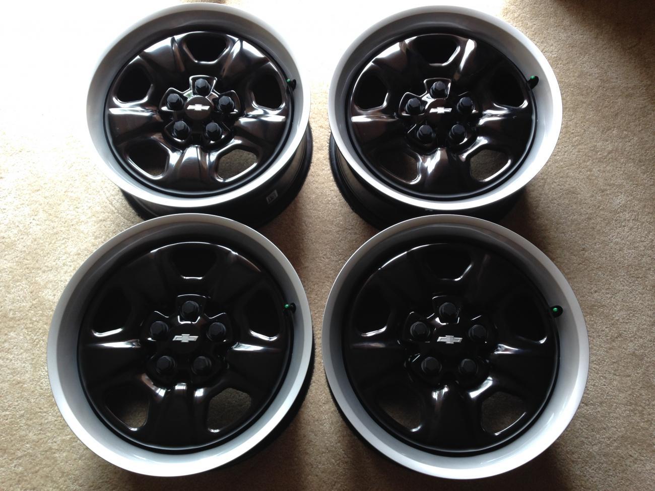 18 Quot Heritage Steel Wheels Camaro5 Chevy Camaro Forum