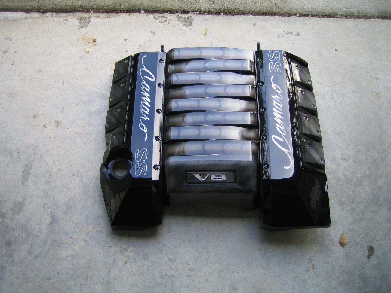 Another Custom Painted Engine Cover Camaro5 Chevy Camaro
