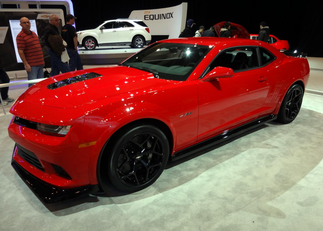 Red Hot Z 28 Pics From The Toronto Auto Show Camaro5