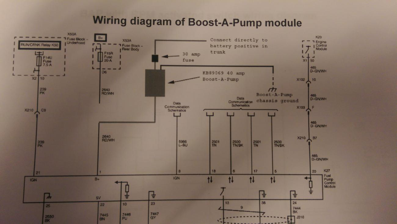 on kenne bell boost a pump wiring diagram