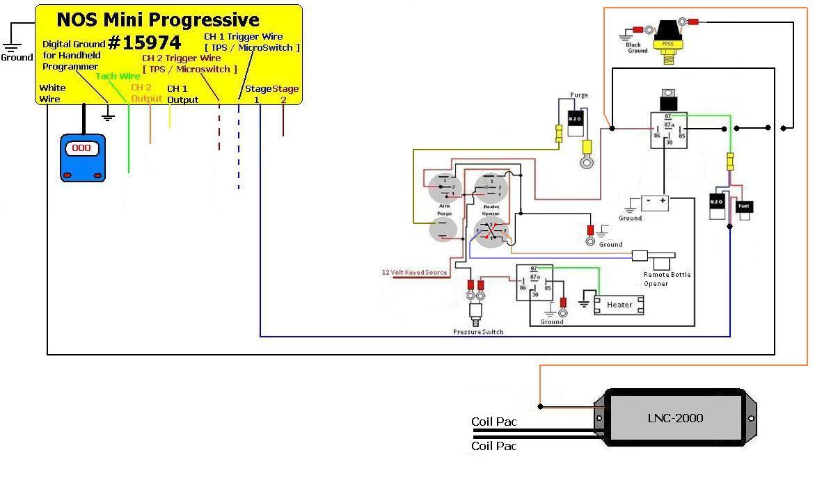Lnc2000  U0026 Nos Mini 2 Stage Controller Install 15974   Camaro Zl1