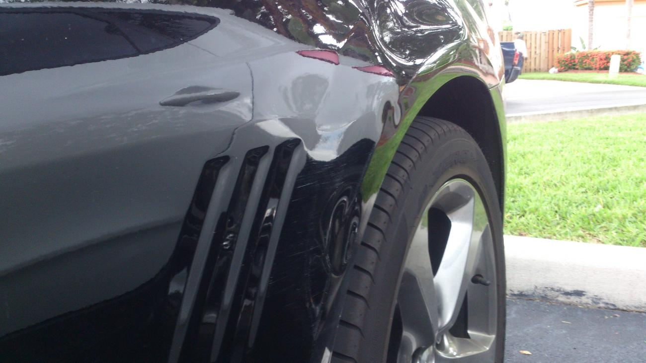 how to fix dents and scratches on car