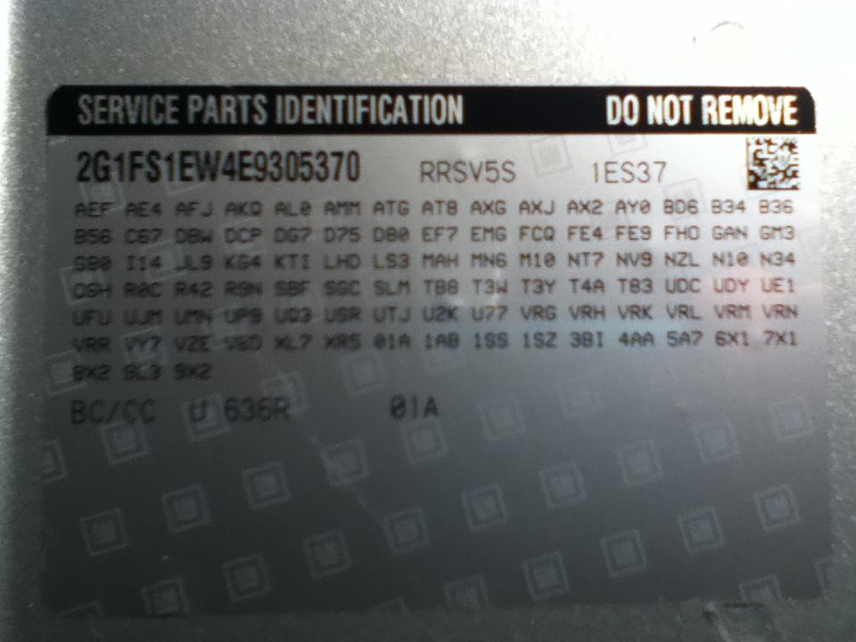 RPO Codes MN6 and M10 - Camaro5 Chevy Camaro Forum / Camaro
