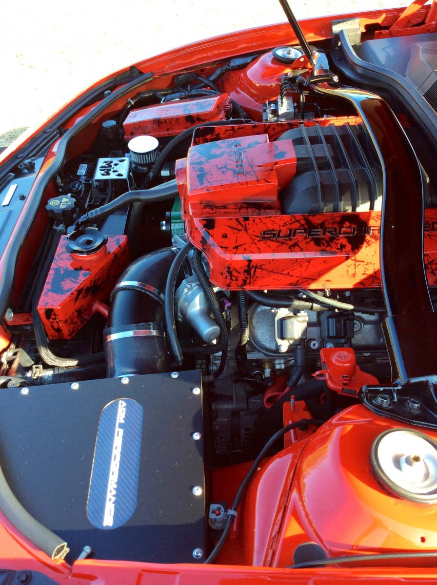 New Engine Compartment Pics - Camaro5 Chevy Camaro Forum ...
