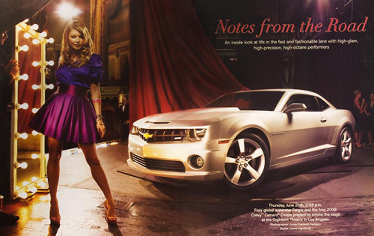 2010 Chevrolet Camaro Ss Revealed By Fergie Camaro5