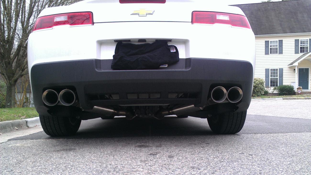 Quad Tips For 2014 Camaro Autos Post