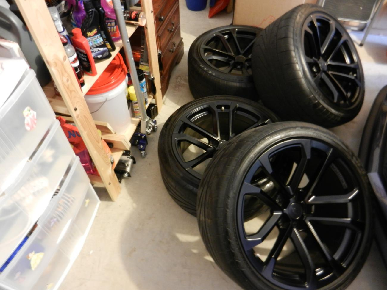 Zl1 10 Spoke Oem Wheels And Tires For Sale Camaro5 Chevy
