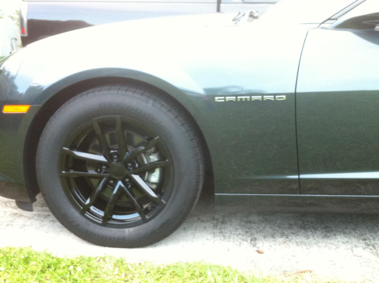 Factory Reproductions Style 41 Zl1 Fitment Wheels Black Chrome Autos Post