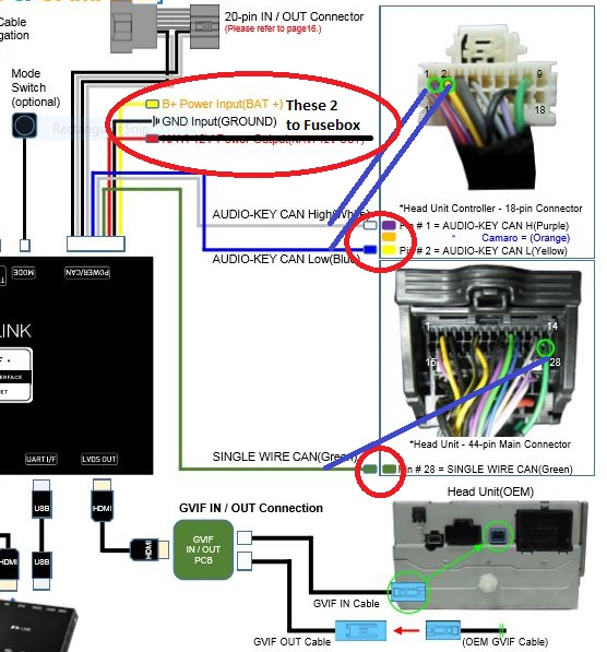 HDMI input for MyLink screen working! - HD-LINK IW03GF - Page 9