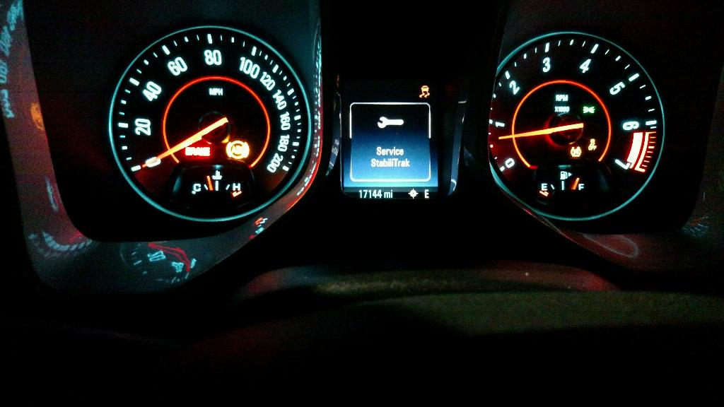 Service Stabilitrak and traction control light - Camaro5