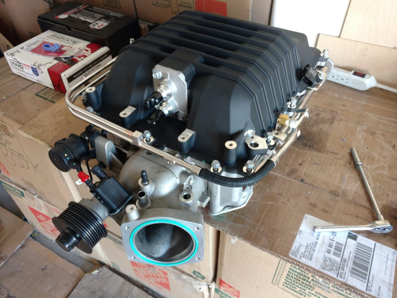 LSA supercharged LS3, now with water injection - Camaro5