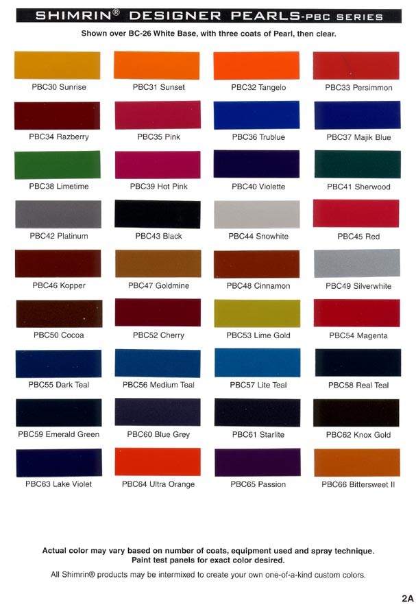 Paint Color Samples Car Paint Color Samples Car Products