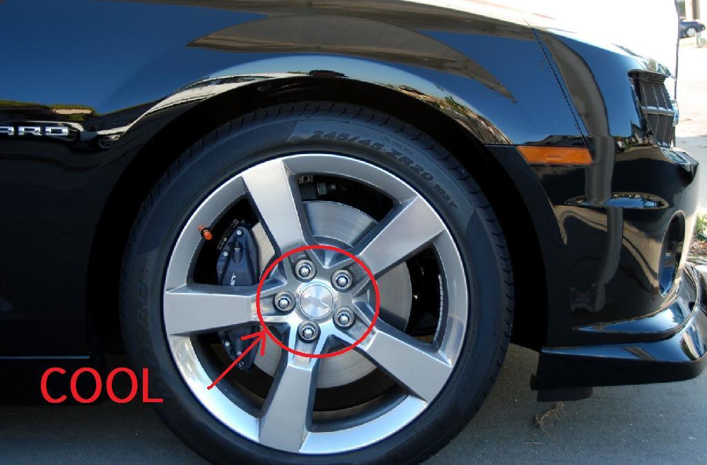 Gorilla Guard Wheel Locks 61641 Camaro5 Chevy Camaro