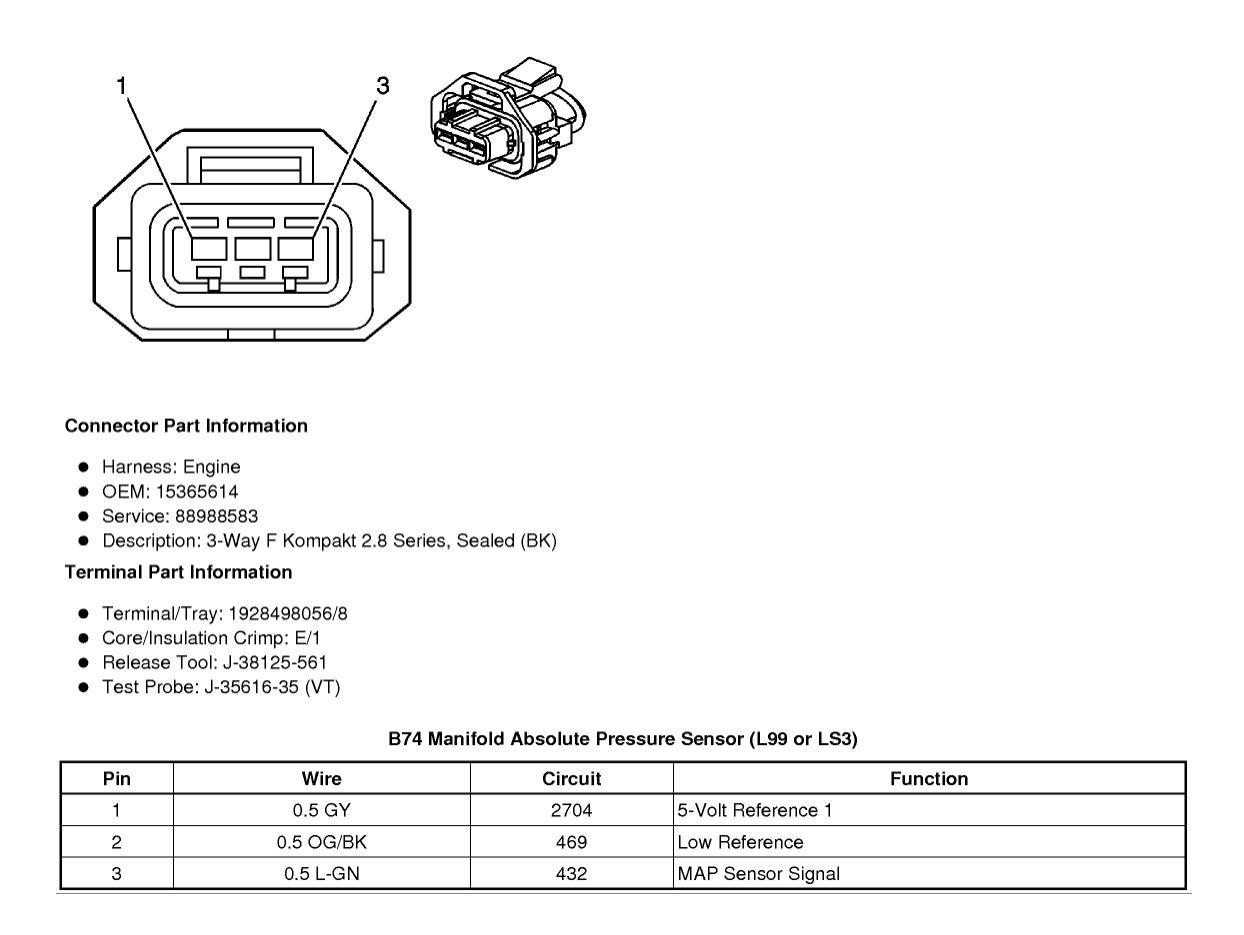 3 Bar Map Sensor Wiring - Camaro5 Chevy Camaro Forum / Camaro ZL1, SS and  V6 Forums - Camaro5.com