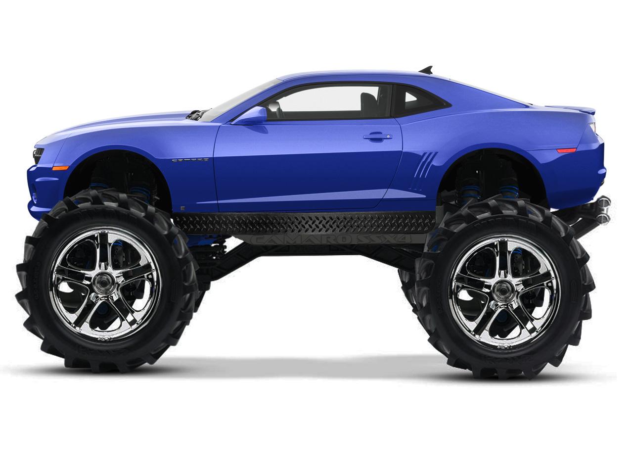 Camaro Monster Truck >> Monster Truck Gen5 Photoshop Page 3 Camaro5 Chevy Camaro Forum
