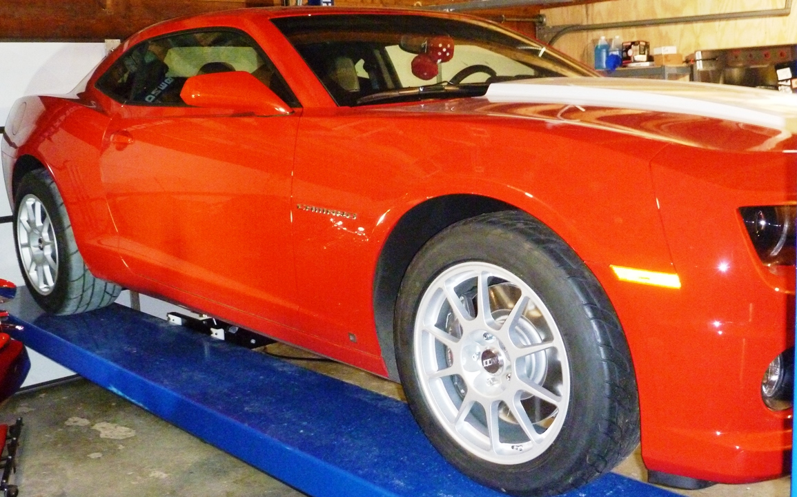 Biggest Tires On Stock Suspension Camaro5 Chevy Camaro