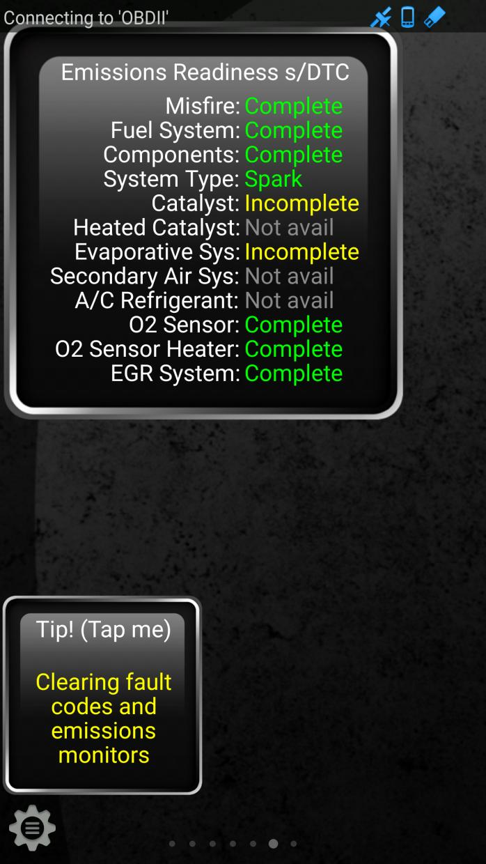 Emissions Readiness (Evaporative Sys) Incomplete - Camaro5
