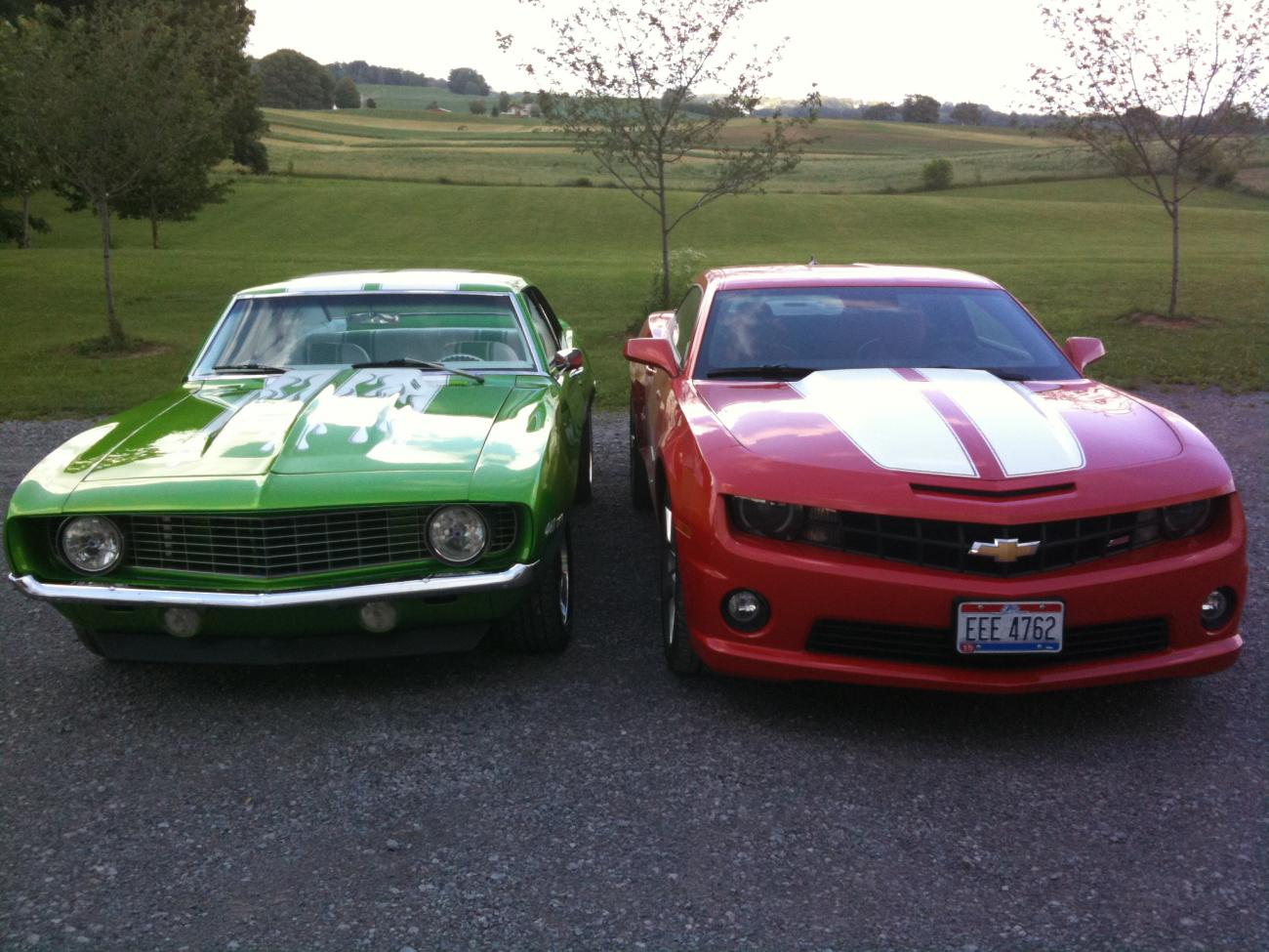 1969 Camaro And 2010 2ss Iom Both For Sale Camaro5 Chevy