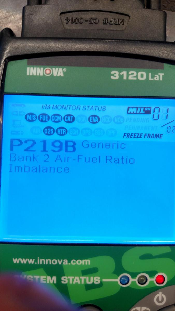 When To Change Spark Plugs >> Engine code p219b - Camaro5 Chevy Camaro Forum / Camaro ...