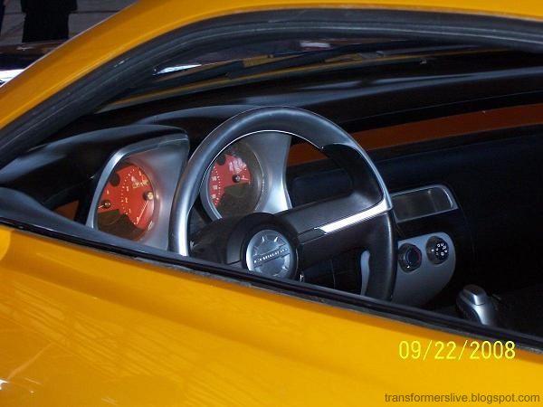 New Photos Of Bumblebee Camaro From Tf2 Camaro5 Chevy
