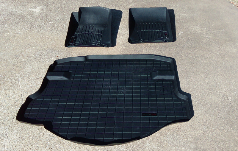 Weathertech Mats Front And Trunk 100 In Dfw Camaro5