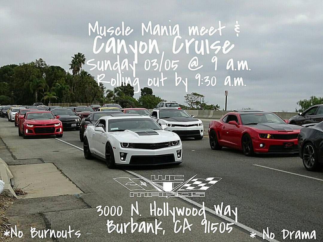 Socal upcoming meets events page 9 camaro5 chevy for 12651 little tujunga canyon lake view terrace ca 91342