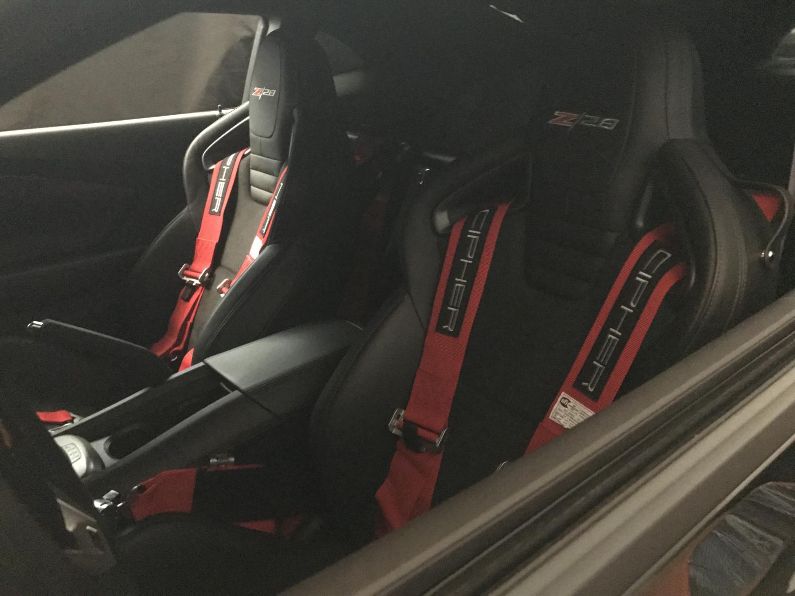 Installing a 5 point harness - Camaro5 Chevy Camaro Forum / Camaro