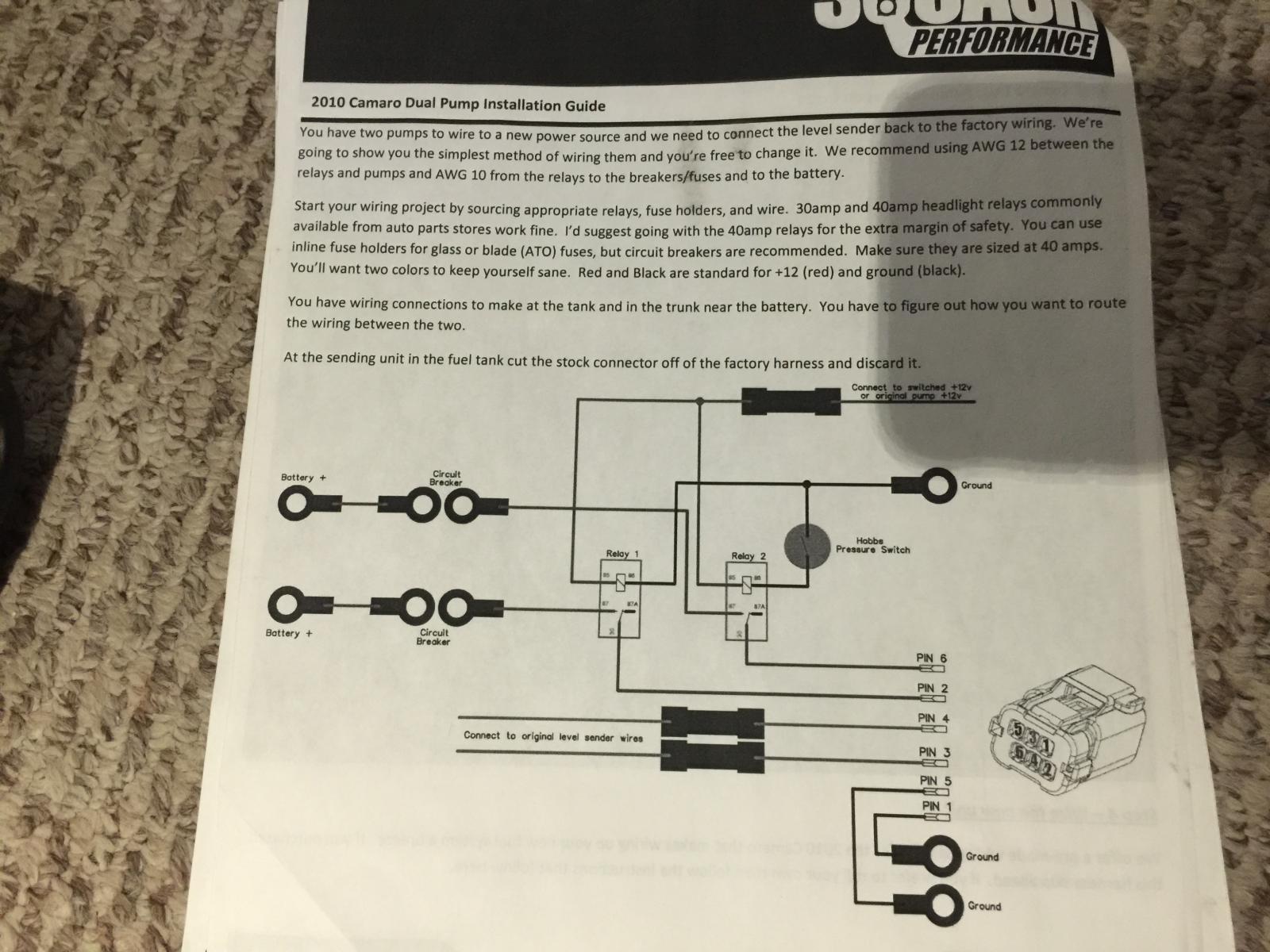 HELP!!!! With squash preformance pump install - Camaro5 ... on camaro starter wiring, camaro neutral safety switch wiring, camaro gauge wiring, camaro headlight wiring,