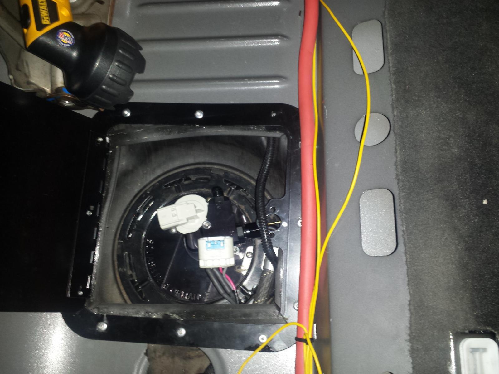 2013 fuel tank trap door   bad idea - Camaro5 Chevy Camaro Forum