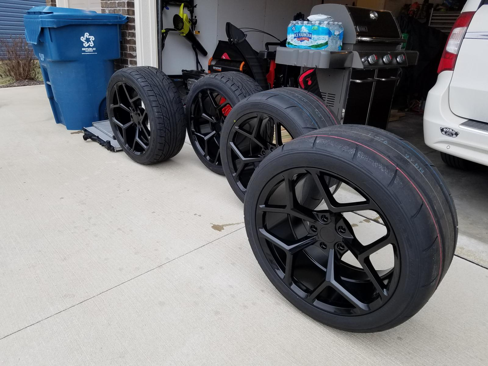 5Th Gen Camaro For Sale >> 5th Gen Z28 Replica Wheel Set For Sale Camaro5 Chevy