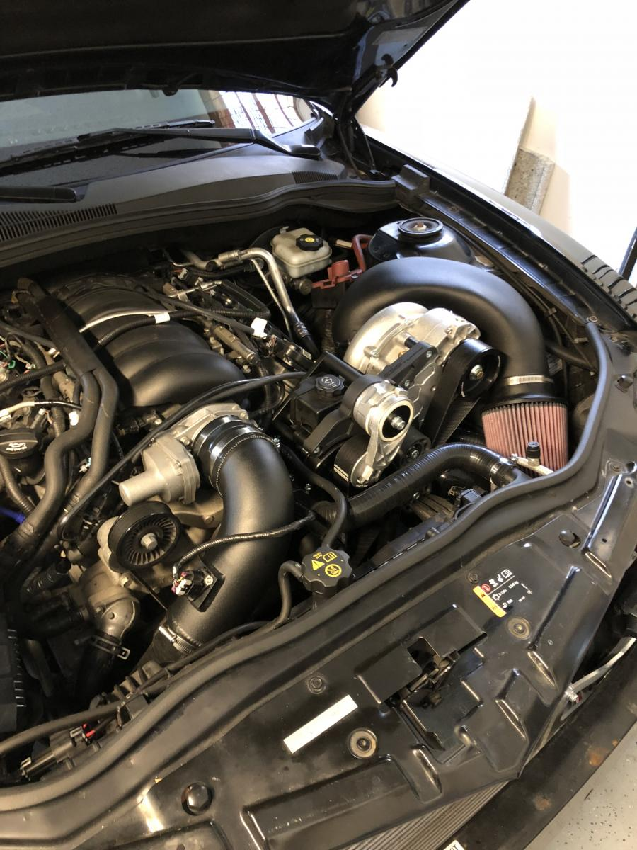 Procharger filter placement? Sucking in heat from headers