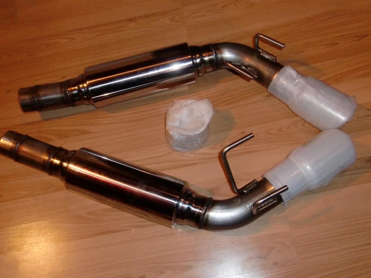 2010 V6 Camaro American MRT Muscle Sound Axle Back Exhaust