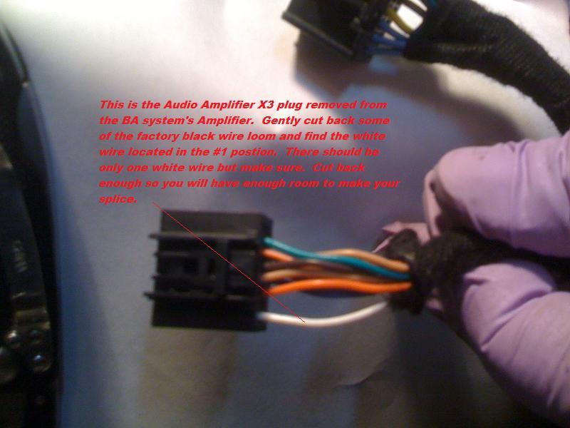 DIY-Adding a Sub/Amp to a BA system via RCA splicing - Camaro5 Chevy Camaro  Forum / Camaro ZL1, SS and V6 Forums - Camaro5.comCamaro5.com