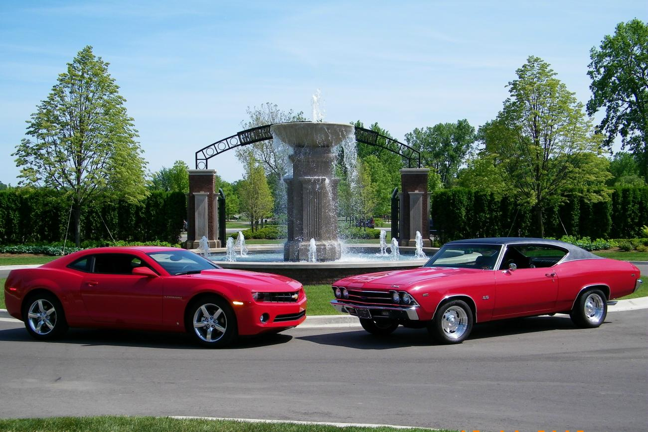 Old Muscle Cars vs. New Muscle Cars - Page 6 - Camaro5 Chevy ...