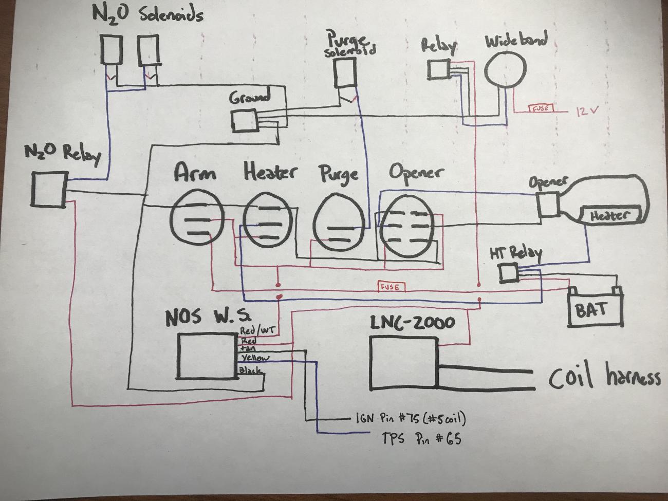 Nitrou Tachometer Wiring Diagram For