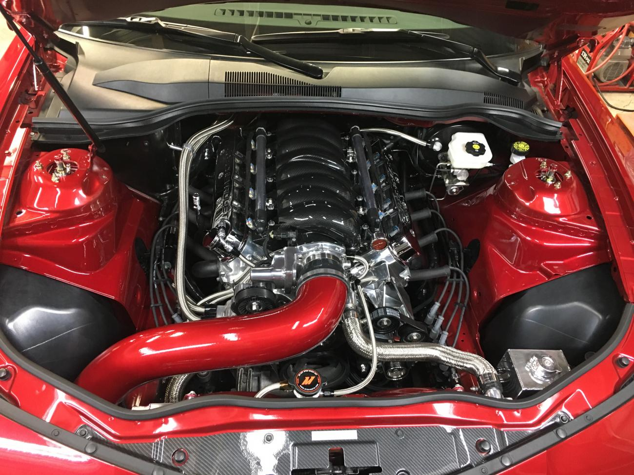 2010-2015 For CHEVROLET CAMARO SS 6.2L 6.2 V8 AF Dynamic Air Intake