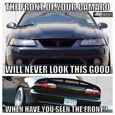 Funny Anti Mustang Or Anti Ford Memes Camaro5 Chevy