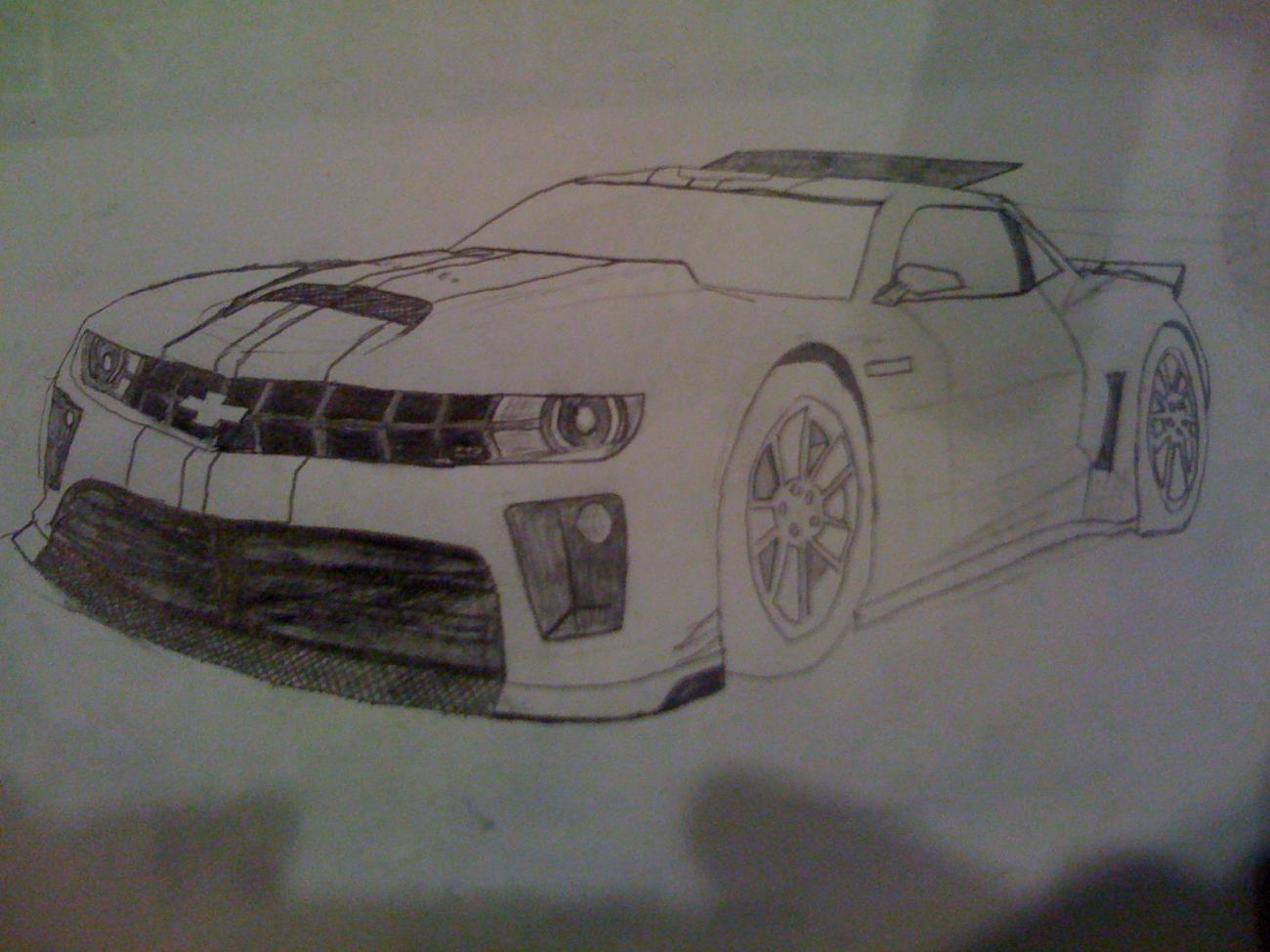 Z28 guess look (Drawing) - Camaro5 Chevy Camaro Forum ...