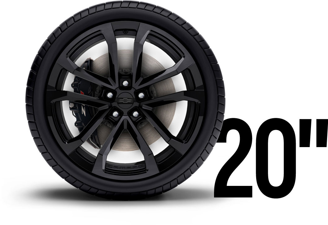 For Sale Zl1 Black Wheels And Tires 20 Inch Wheels And