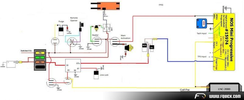 lnc2000 nos mini 2 stage controller install 15974. Black Bedroom Furniture Sets. Home Design Ideas