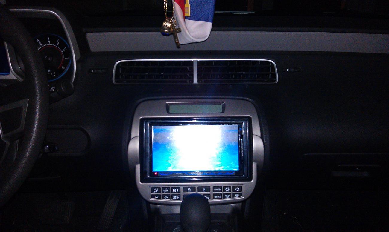installed a touchscreen radio in my camaro camaro5. Black Bedroom Furniture Sets. Home Design Ideas