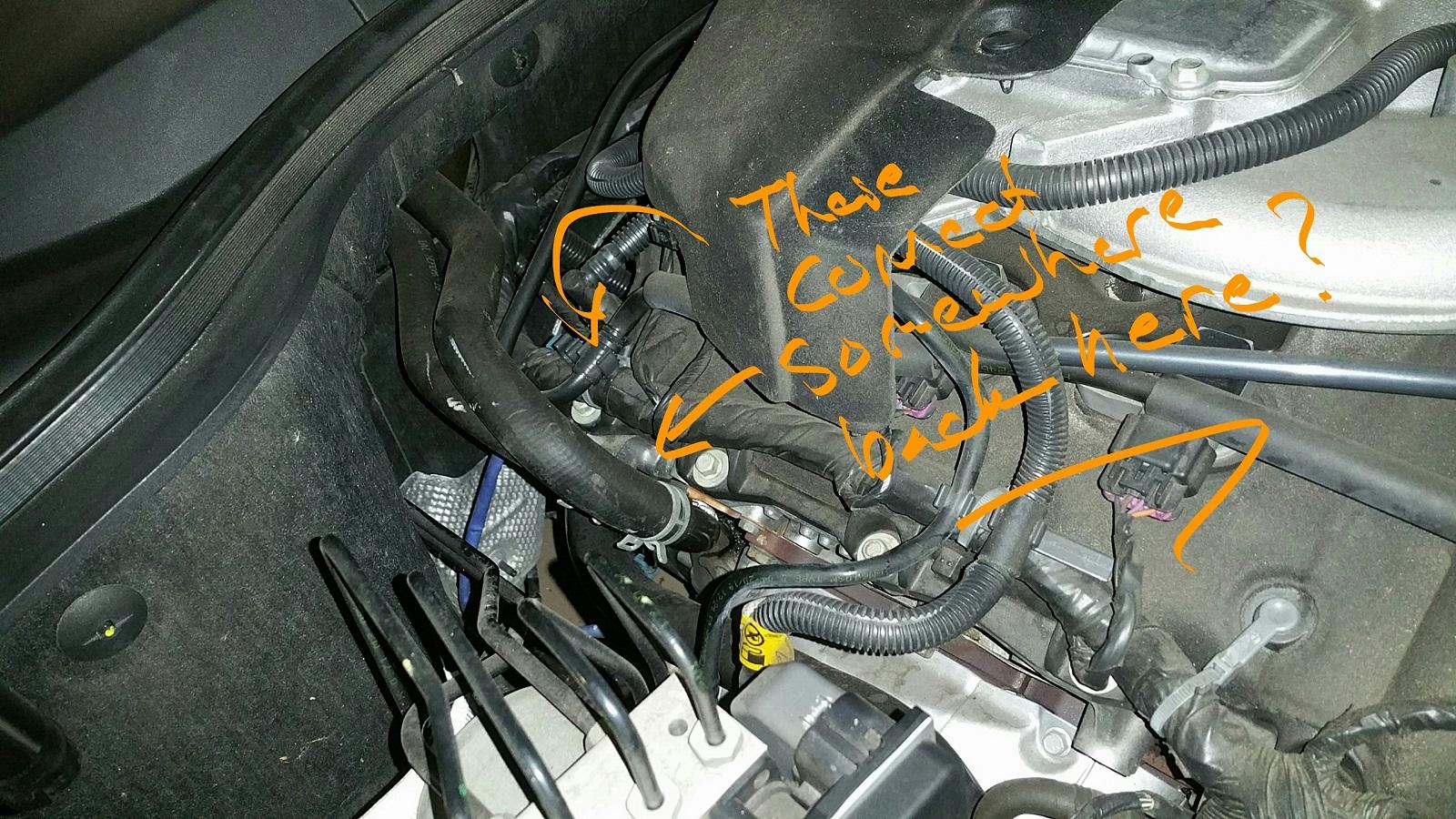 Coolant Leak On Passenger Side 2011 Lt V6 Camaro5 Chevy