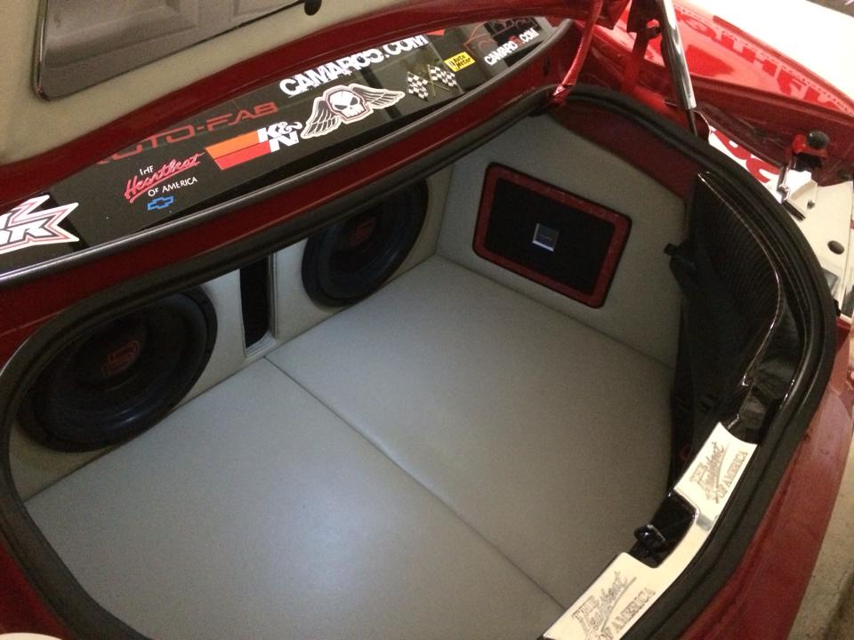 Attachment on Battery Location 2012 Camaro Ss