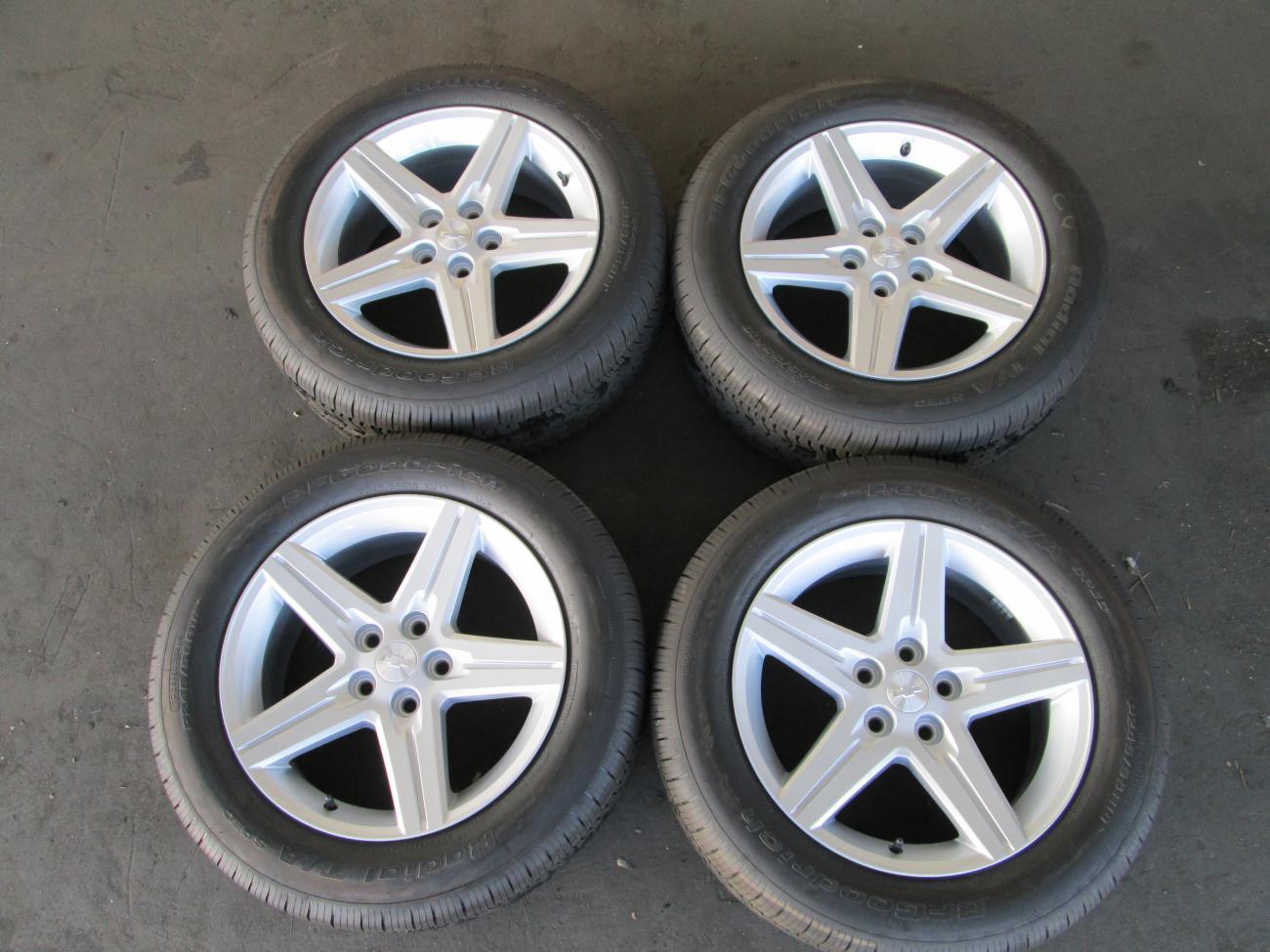 chevy camaro 18 wheels rims stock oem factory alloy 4 bf goodrich tires camaro5 chevy. Black Bedroom Furniture Sets. Home Design Ideas