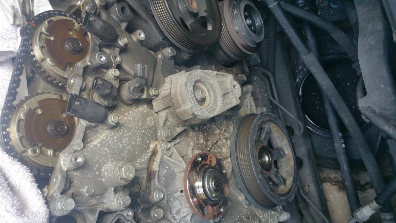 2010 Chevrolet Camaro 1ls >> 2010 3.6l LLT harmonic balancer removal - Camaro5 Chevy ...