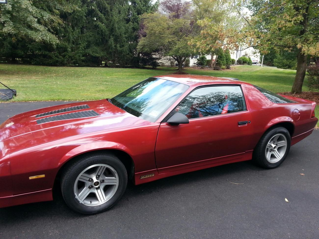 1986 camaro iroc z28 for sale camaro5 chevy camaro forum. Black Bedroom Furniture Sets. Home Design Ideas