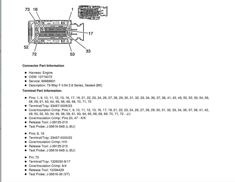wiring diagram O2 sensor bank 1 sensor 1????? - Camaro5 ...