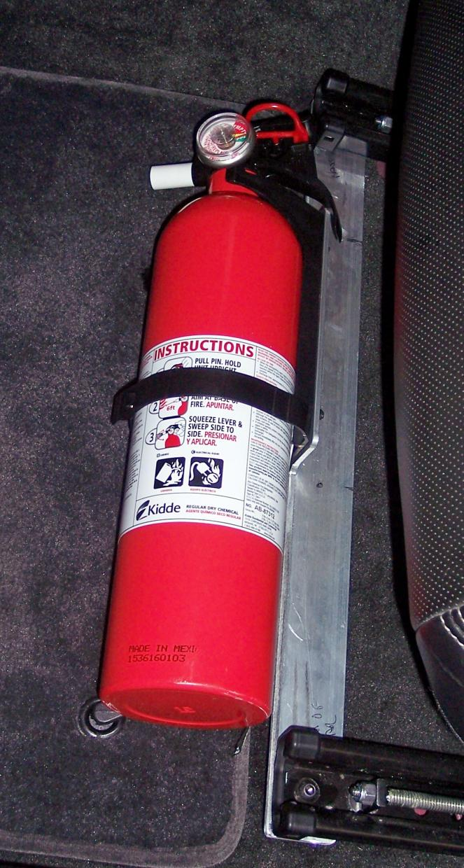 Fire Extinguisher Mount Location Camaro5 Chevy Camaro