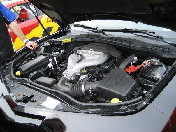2010 Camaro engine bay showing DI 3.6L V6 LLT engine ...